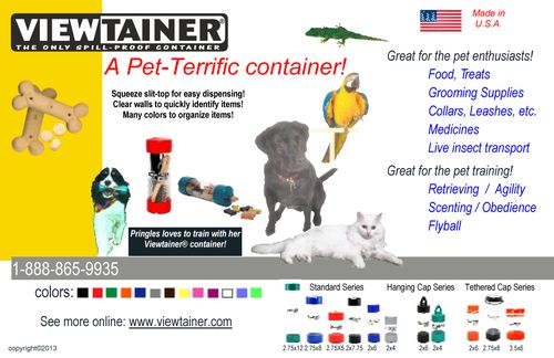Viewtainer Co pet flyer 6_2013